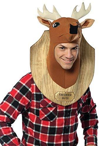 コスプレ衣装 コスチューム その他 【送料無料】Rasta Imposta Trophy Head Deer, Brown, Standardコスプレ衣装 コスチューム その他