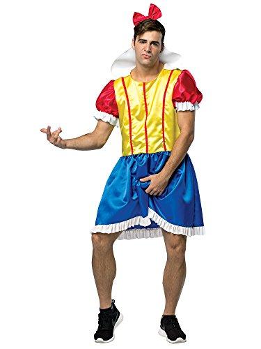 コスプレ衣装 コスチューム その他 My Hairy Princess - Bro White Men's Costume, Multi, One sizeコスプレ衣装 コスチューム その他