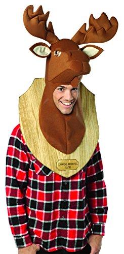 コスプレ衣装 コスチューム その他 Rasta Imposta Loose Moose Trophy, Brown, One Sizeコスプレ衣装 コスチューム その他