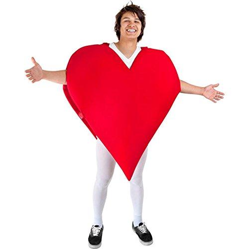 コスプレ衣装 コスチューム その他 【送料無料】Heart Adult Costumeコスプレ衣装 コスチューム その他