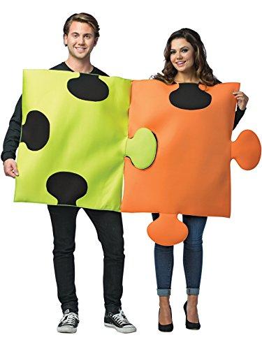 コスプレ衣装 コスチューム その他 【送料無料】Puzzle Pieces Couple Costume - STコスプレ衣装 コスチューム その他