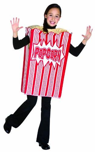 コスプレ衣装 コスチューム その他 Rasta Imposta Movie Night Popcorn Children's Costume, 7-10, Redコスプレ衣装 コスチューム その他