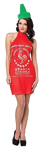 コスプレ衣装 コスチューム その他 【送料無料】Rasta Imposta Women's Sriracha Dress, Red, One Sizeコスプレ衣装 コスチューム その他
