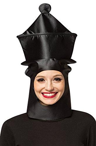 コスプレ衣装 コスチューム その他 【送料無料】Rasta Imposta Women's Queen Chess Headpiece Mask Theme Party Halloween Costume Accessoryコスプレ衣装 コスチューム その他