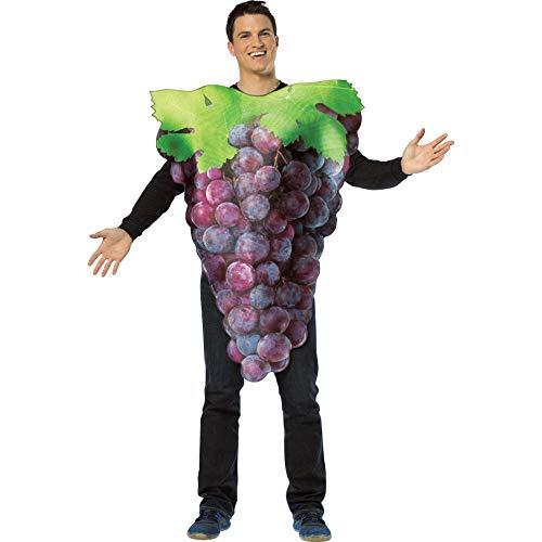 コスプレ衣装 コスチューム その他 【送料無料】Rasta Imposta Get Real Purple Grapes, Purple, Standardコスプレ衣装 コスチューム その他