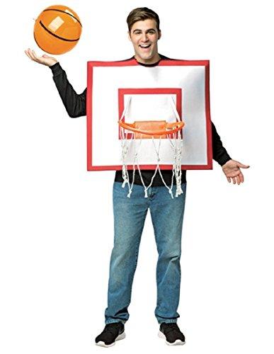 コスプレ衣装 コスチューム その他 【送料無料】Rasta Imposta Basketball Hoop with Ball Whiteコスプレ衣装 コスチューム その他