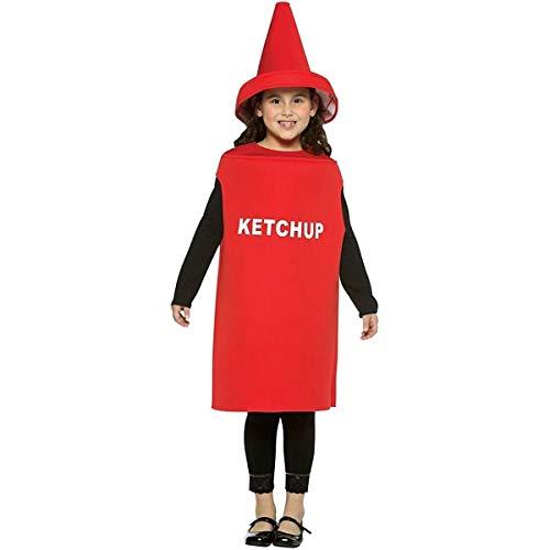 コスプレ衣装 コスチューム その他 【送料無料】Rasta Imposta Lightweight Ketchup Children's Costume, 7-10, Redコスプレ衣装 コスチューム その他