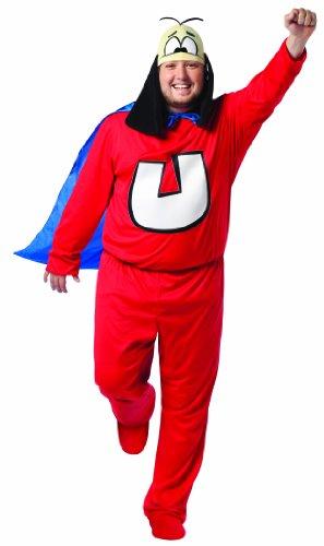 コスプレ衣装 コスチューム その他 【送料無料】Rasta Imposta Plus-Size Underdog, Red/Blue, Adult Plusコスプレ衣装 コスチューム その他