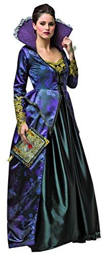 コスプレ衣装 コスチューム その他 Rasta Imposta Women's Once Upon A Time Evil Queen, Purple/Black, Mediumコスプレ衣装 コスチューム その他