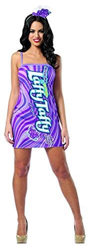 コスプレ衣装 コスチューム その他 Rasta Imposta Nestle Laffy Taffy Tube Dress Grape, Purple, ONE SIZEコスプレ衣装 コスチューム その他