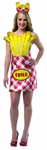 コスプレ衣装 コスチューム その他 【送料無料】Rasta Imposta Women's Foodies French Fries Dress, Multi, One Sizeコスプレ衣装 コスチューム その他