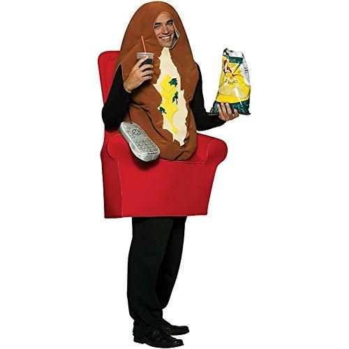コスプレ衣装 コスチューム その他 【送料無料】Couch Potato Adult Costumeコスプレ衣装 コスチューム その他