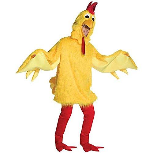 コスプレ衣装 コスチューム その他 Fuzzy Chicken Costume Costume - One Size - Chest Size 48-52コスプレ衣装 コスチューム その他