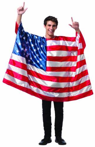 コスプレ衣装 コスチューム その他 Rasta Imposta Men's Flag Tunic- USA, Red/White/Blue, One Sizeコスプレ衣装 コスチューム その他