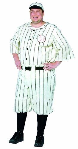 コスプレ衣装 コスチューム その他 Rasta Imposta Plus-Size Old Tyme Baseball Player, White, XX-Largeコスプレ衣装 コスチューム その他