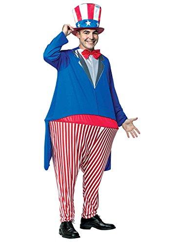 コスプレ衣装 コスチューム その他 Rasta Imposta Men's Uncle Sam Hoopster, Blue, OSコスプレ衣装 コスチューム その他