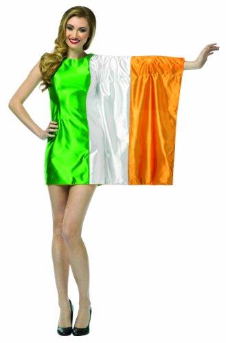 コスプレ衣装 コスチューム その他 Rasta Imposta Flag Dress Ireland Costume, Green/White/Orange, Adult 4-10コスプレ衣装 コスチューム その他