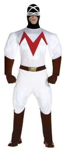 コスプレ衣装 コスチューム その他 【送料無料】Adult Racer X Speed Racer Costume - Adult Std.コスプレ衣装 コスチューム その他