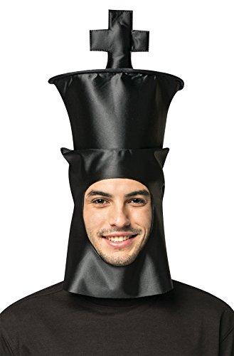 コスプレ衣装 コスチューム その他 【送料無料】Rasta Imposta Chess King Hat Headpiece Funny Theme Party Halloween Costume Accessoryコスプレ衣装 コスチューム その他