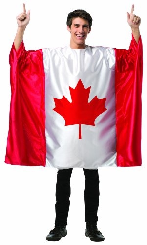 コスプレ衣装 コスチューム その他 Rasta Imposta Men's Flag Tunic- Canada, Red/White, One Sizeコスプレ衣装 コスチューム その他