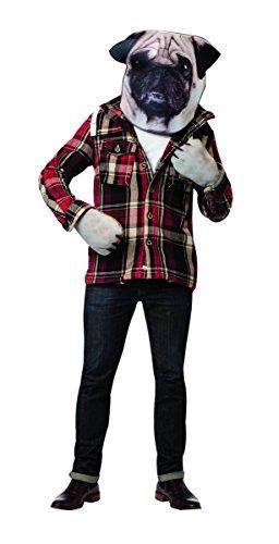コスプレ衣装 コスチューム その他 Rasta Imposta Men's Doggie Kit Head and Paws, Brown, One Sizeコスプレ衣装 コスチューム その他