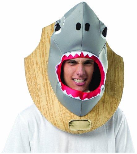 コスプレ衣装 コスチューム その他 Rasta Imposta Men's Shark Trophy Head, Multi, One Sizeコスプレ衣装 コスチューム その他