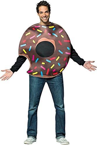 コスプレ衣装 コスチューム その他 【送料無料】Rasta Imposta Chocolate Donut w/Biteコスプレ衣装 コスチューム その他