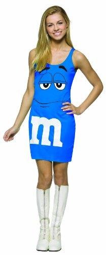 コスプレ衣装 コスチューム その他 【送料無料】Rasta Imposta M&M's Tank Dress, Blue, Teen 13-16コスプレ衣装 コスチューム その他