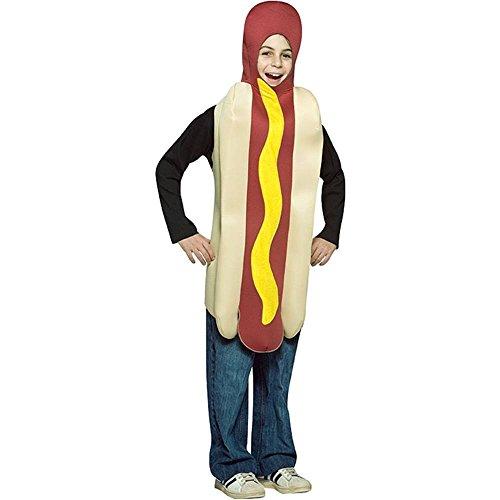 コスプレ衣装 コスチューム その他 Rasta Imposta - Hot Dog Child Costume, One-Size (7-10)コスプレ衣装 コスチューム その他