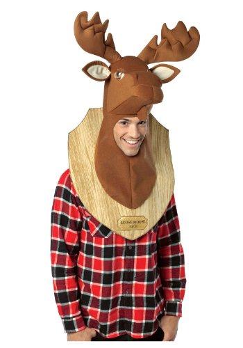 コスプレ衣装 コスチューム その他 【送料無料】Rasta Imposta Loose Moose Adult Trophy Head,Multi,One Sizeコスプレ衣装 コスチューム その他