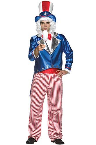 コスプレ衣装 コスチューム その他 【送料無料】Uncle Sam Adult Costume - One Sizeコスプレ衣装 コスチューム その他