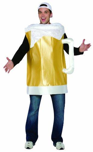 コスプレ衣装 コスチューム その他 【送料無料】Rasta Imposta Beer Mug Costume , Gold, One Sizeコスプレ衣装 コスチューム その他