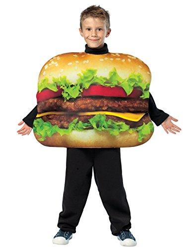 コスプレ衣装 コスチューム その他 【送料無料】Get Real Cheeseburger Kids Costume - One Sizeコスプレ衣装 コスチューム その他
