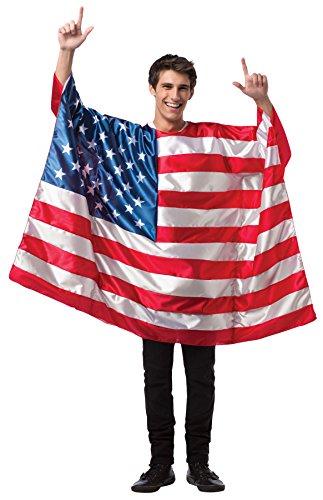 コスプレ衣装 コスチューム その他 Rasta Imposta USA Flag Outfit 4th July Independence Patriotic Outfit Holiday Costume, OS (48-52)コスプレ衣装 コスチューム その他