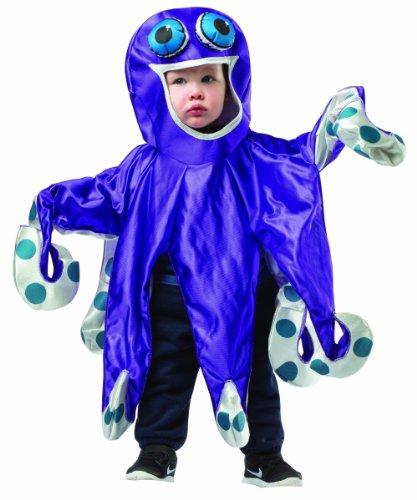 コスプレ衣装 コスチューム その他 Rasta Imposta Baby's Octopus, Purple/Gray, 18-24 Monthsコスプレ衣装 コスチューム その他