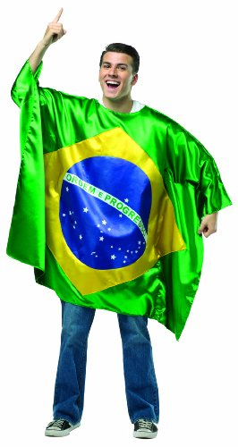 コスプレ衣装 コスチューム その他 【送料無料】Rasta Imposta Men's Flag Tunic- Brazil, Multi, One Sizeコスプレ衣装 コスチューム その他