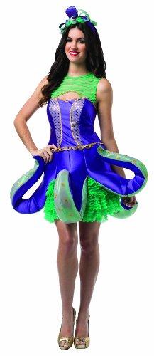 コスプレ衣装 コスチューム その他 【送料無料】Rasta Imposta Women's Ornate Octopus, Purple/Green/Gold, One Sizeコスプレ衣装 コスチューム その他