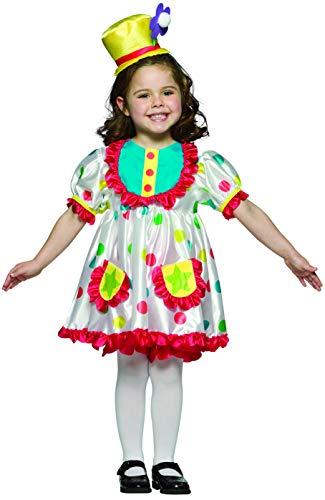 コスプレ衣装 コスチューム その他 Rasta Imposta Girl Clown Costume, Size 4/6X, Dress, hat, Bloomersコスプレ衣装 コスチューム その他