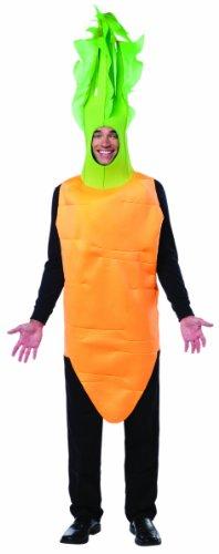 コスプレ衣装 コスチューム その他 【送料無料】Rasta Imposta Men's Carrot-Top, Orange/Green, One Sizeコスプレ衣装 コスチューム その他
