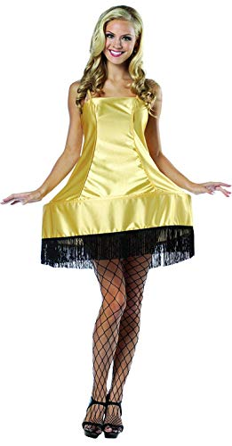 コスプレ衣装 コスチューム その他 【送料無料】Rasta Imposta A Christmas Story Leg Lamp Dress Costume, Gold, One Sizeコスプレ衣装 コスチューム その他