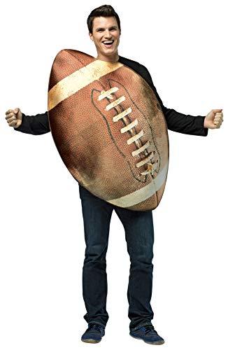 コスプレ衣装 コスチューム その他 Rasta Imposta Get Real Football, Brown, One Sizeコスプレ衣装 コスチューム その他