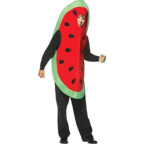 コスプレ衣装 コスチューム その他 【送料無料】Rasta Imposta Adult's Watermelon Slice Halloween Costume (Size: Standard 44)コスプレ衣装 コスチューム その他