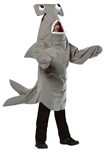 コスプレ衣装 コスチューム その他 Boy's Hammerhead Shark Outfit Comical Theme Child Halloween Costume, Child M (7-10) Grayコスプレ衣装 コスチューム その他