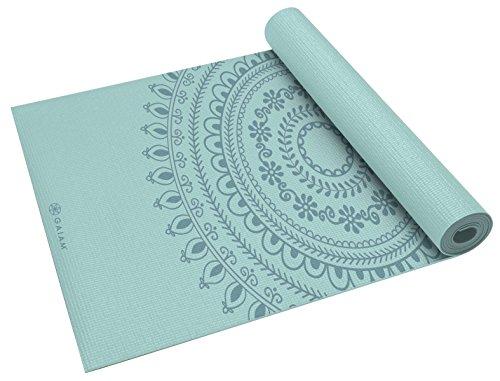 ヨガマット フィットネス 05-60527 Gaiam Yoga Mat Premium Print Extra Thick Non Slip Exercise & Fitness Mat for All Types of Yoga, Pilates & Floor Exercises, Marrakesh, 5/6mmヨガマット フィットネス 05-60527