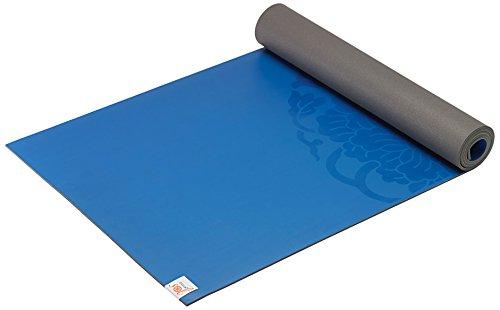 ヨガマット フィットネス 05-61681 Gaiam Sol Dry-Grip Yoga Mat, Blue, 5mmヨガマット フィットネス 05-61681