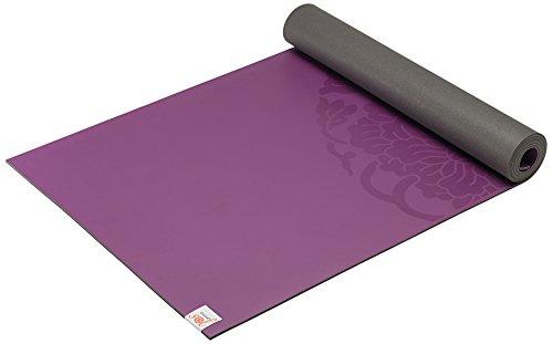 ヨガマット フィットネス 05-61682 Gaiam Sol Dry-Grip Yoga Mat, Purple, 5mmヨガマット フィットネス 05-61682
