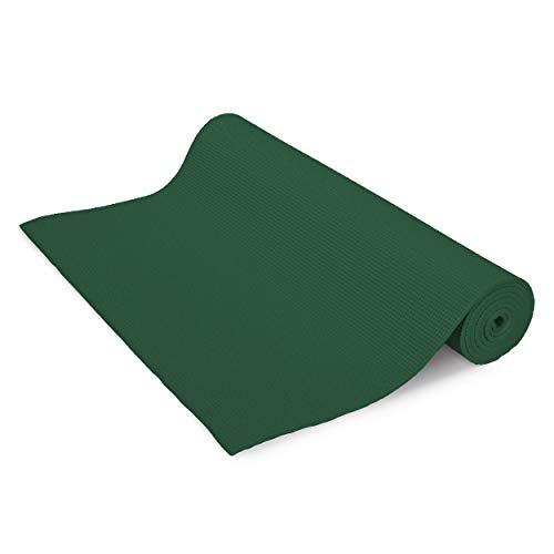 ヨガマット フィットネス Bean Yoga Mat Extra Thick 1/4 inch (6mm), Extra Long 72 inch, Premium Sticky Mat, Non-Toxic SGS Certified, Yoga Monster Mat (Dark Green, 72 Inches)ヨガマット フィットネス