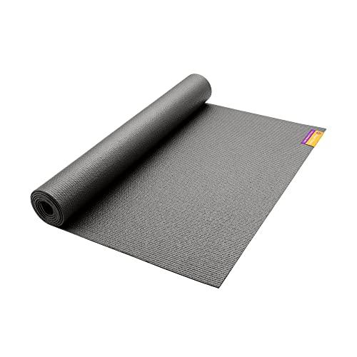 ヨガマット フィットネス MA-TM-68-GRAY Hugger Mugger Tapas Original Yoga Mat, Gray, 68
