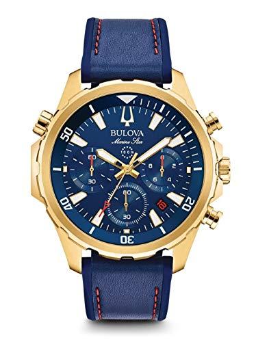 腕時計 ブローバ メンズ 【送料無料】Bulova Mens Chronograph Quartz Watch with Silicone Strap 97B168腕時計 ブローバ メンズ