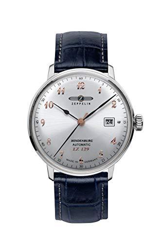 ツェッペリン 腕時計 メンズ ゼッペリン ドイツ 【送料無料】Zeppelin LZ 129 Hindenburg Automatic Watch, Silver, 40 mm, Day, Leather, 7066-5ツェッペリン 腕時計 メンズ ゼッペリン ドイツ